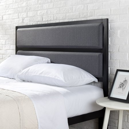 Astounding Mainstays Upholstered Metal Headboard Multiple Sizes Beutiful Home Inspiration Truamahrainfo