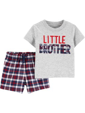 457e1a8e5 Product Image Short sleeve t-shirt and shorts, 2 pc set (baby boys)
