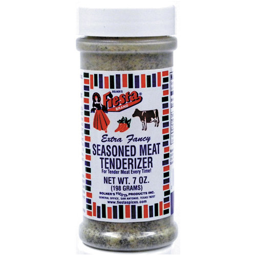 Fiesta Brand Seasoned Meat Tenderizer, 7 oz jar