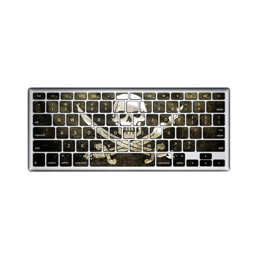 Unique Pattern Keyboard Flim Stickers Suitable for Macbook 13 Inch/15 Inch Pro