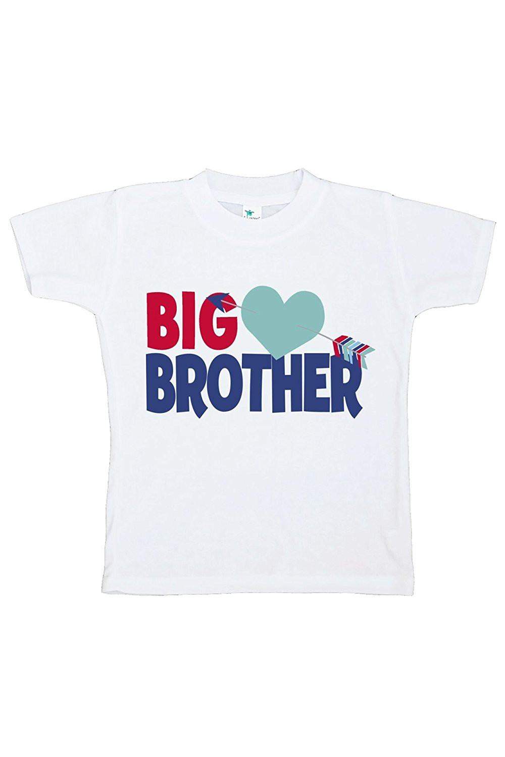 Custom Party Shop Boy's Big Brother Happy Valentine's Day T-shirt - 4T