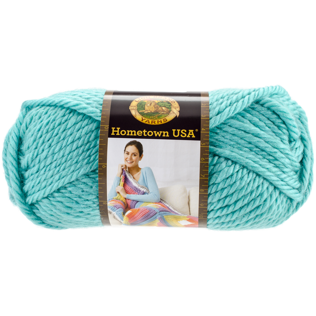Lion Brand Hometown USA Yarn-Miami Seafoam