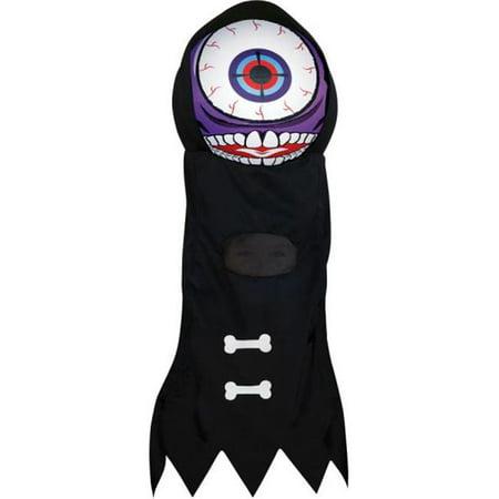 Morris Costumes OC41543 Purple Giant Eyeball Headpiece - Eyeball Costume