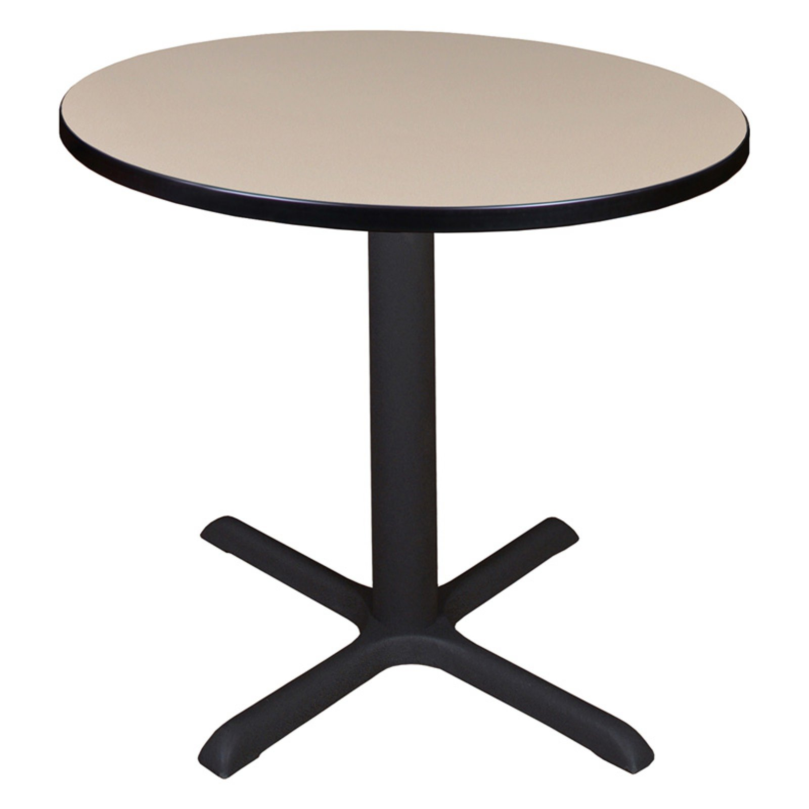 """Cain 36"""" Round Breakroom Table, Multiple Colors"""
