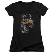 Mgm Army Of Darkness Covered Juniors V-Neck Shirt