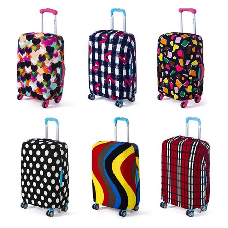 Masin Luggage Cover For Travel,Meigar Elastic Luggage Cover Anti-scratch Travel Suitcase Protective Cover Dust-proof Protector Cases Apply to 18-20 Inch