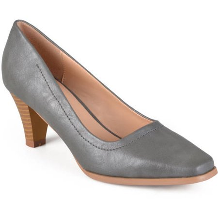 Women's Lyla Stacked Heel Classic Pumps (Pump Stack)