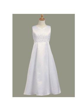 d16e81c7bbc Product Image White Embellished Sleeveless Communion Dress Girls Size 7-12.5.  Sophias Style. Product TitleWhite Embellished Sleeveless ...