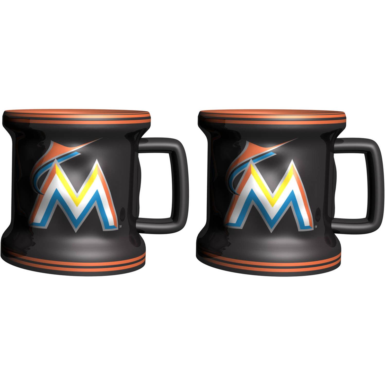MLB Miami Marlins 2-Pack Mini Mug