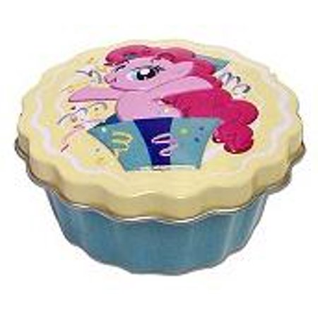 My Little Pony Party Cupcake Candy Tin [Yellow] - Yellow Lollipops
