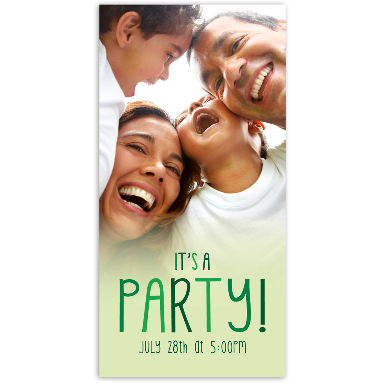Party Fun Birthday General Invitation