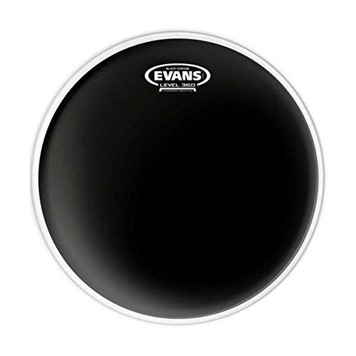 Evans Black Chrome Drum Head, 12 Inch by Evans