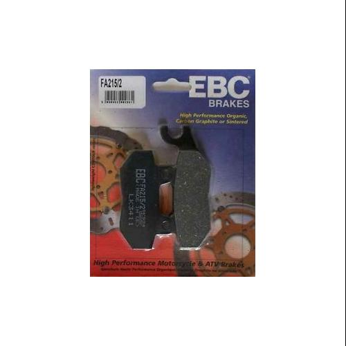 EBC Organic Brake Pads Rear up to VIN# 9082 Fits 1992 Triumph Trophy 900