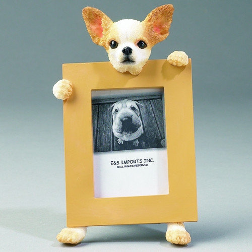 E&S Pets Chihuahua Picture Frame (Set of 2)