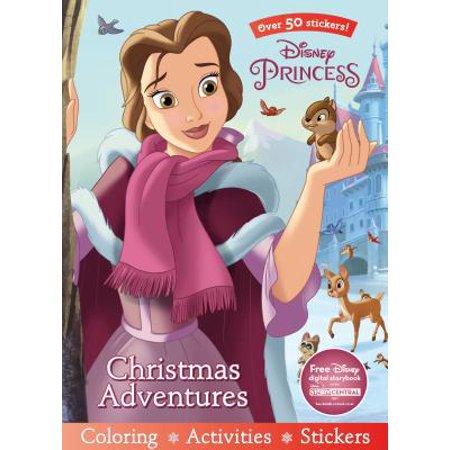 Disney Princess Christmas Adventures (Disney Princess Stickers)