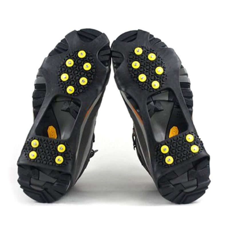 Details about  /Replacement Shoe Grippers Cleats Teeth Nail Shoe Spike Climbing Crampons