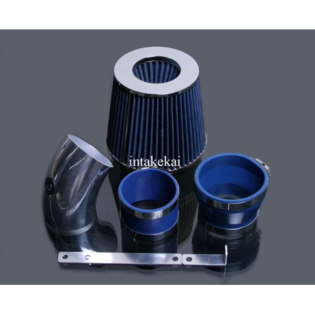 2006 2007 2008 CHEVROLET IMPALA MONTE CARLO 3.5 3.5L 3.9 3.9L V6 ENGINE AIR INTAKE KIT SYSTEMS (BLUE)