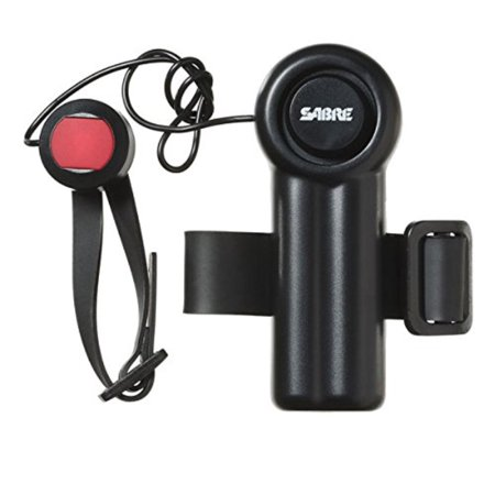 SABRE Mobility Device Alarm with LOUD 120 dB Emergency Panic Button - Great for Walkers, Wheelchairs, Beds or Anywhere where a Call for Help may be required