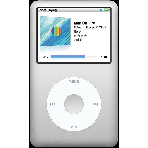 iPod Classic160GB Hard Drive Portable Media Player