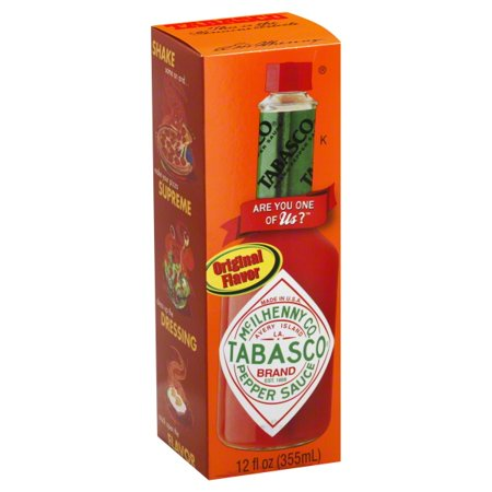 (6 Pack) Tabascoî Pepper Sauce 12 fl. oz. Box