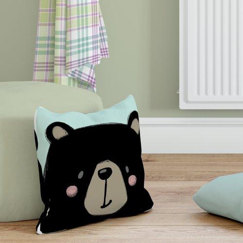 KAVKA DESIGNS Bear Throw Pillow