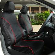 Adeco 9-Piece Velvet Car Vehicle Protective Seat Covers