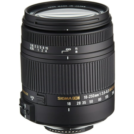 Sigma 18-250mm f/3.5-6.3 DC Macro OS HSM Zoom Lens (for Nikon