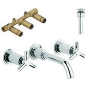 Grohe K20173-18026RD-000 Atrio Vessel Faucet Kit, Chrome