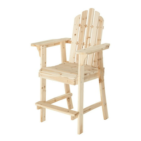 Painted Adirondack Footrest - HGC Counter Height Adirondack Chair with Footrest