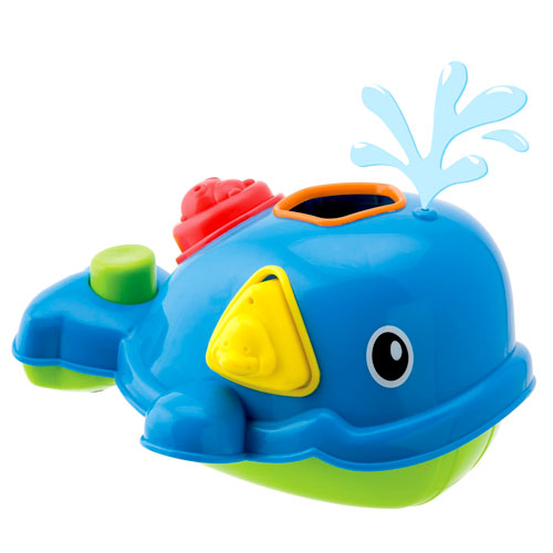 Alex Rub-a-Dub - Sort-N-Spray Whale Bath Toy