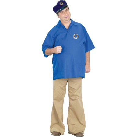 Morris Costumes Mens Skipper Adult Halloween (Skipper Costume Gilligan's Island)