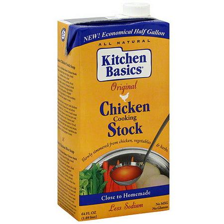 Kitchen Basics Original Chicken Cooking Stock, 64 oz (Pack of 8 ...
