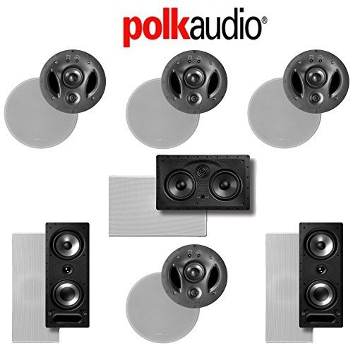 Polk Audio 700-LS 7.0-Ch Vanishing LS Series In-Wall   In-Ceiling Home Speaker System (700-LS + 265-RT + 255C-LS by Polk Audio