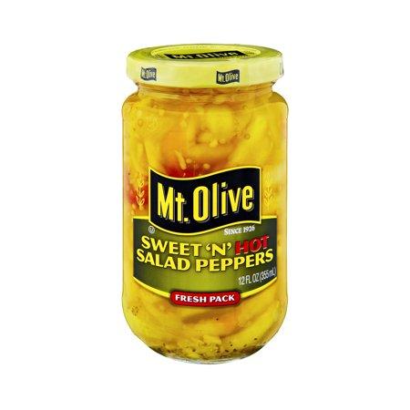 Mt Olive Sweet 39 N 39 Hot Salad Peppers 12 0 Fl Oz
