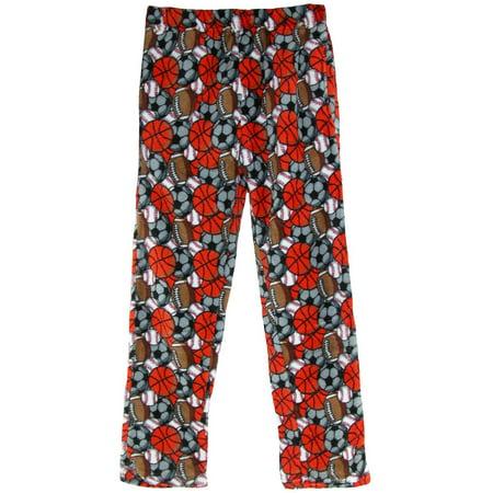 Boy's Coral Fleece Lounge Pajama Pants](Childrens Camo Pajamas)