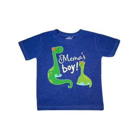 Black Retro Fork Boots - Mema Boy Grandson Gift Dinosaur Toddler T-Shirt