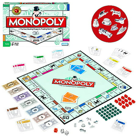 Hasbro Monopoly ® Board Game - Ages 8+