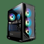iBUYPOWER Gaming Desktop PC - (TraceMR 195i, Intel i5 11400F, 8GB DDR4 3000Memory, GeForce GT 730 2GB, 240GB SSD, RGB - Windows 10 Home)