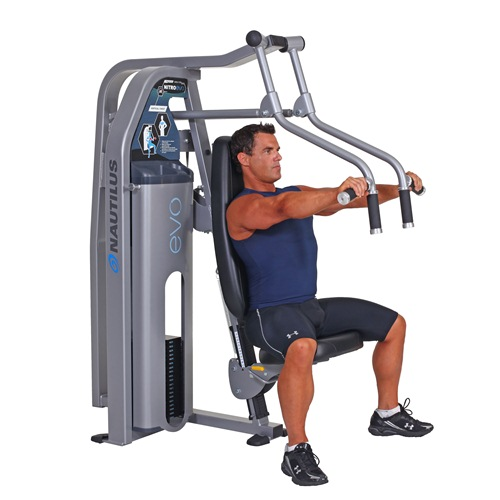 Nautilus Vertical Chest Press Machine - Nitro Evo