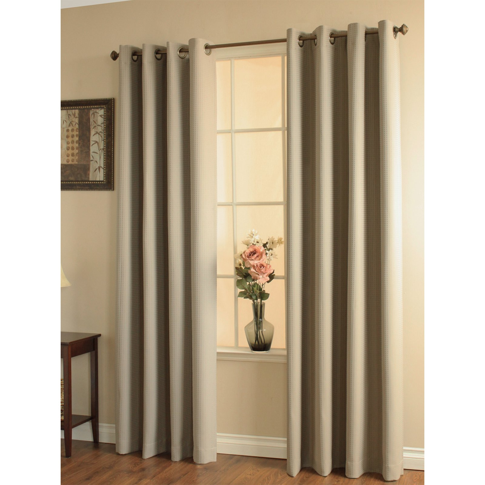 Decorating Gorgeous Walmart Curtains And Drapes For: Escape Indoor/Outdoor Tab Panel