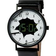 7266BB Men's Destruction Ross McBride Ana-Digi Dial Black IP Steel Black Strap Watch