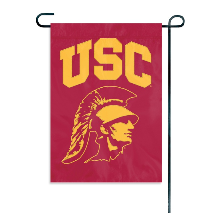 USC TROJANS GARDEN / CAR WINDOW FLAG