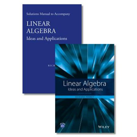 Linear Algebra : Ideas and Applications - Sea Ideas