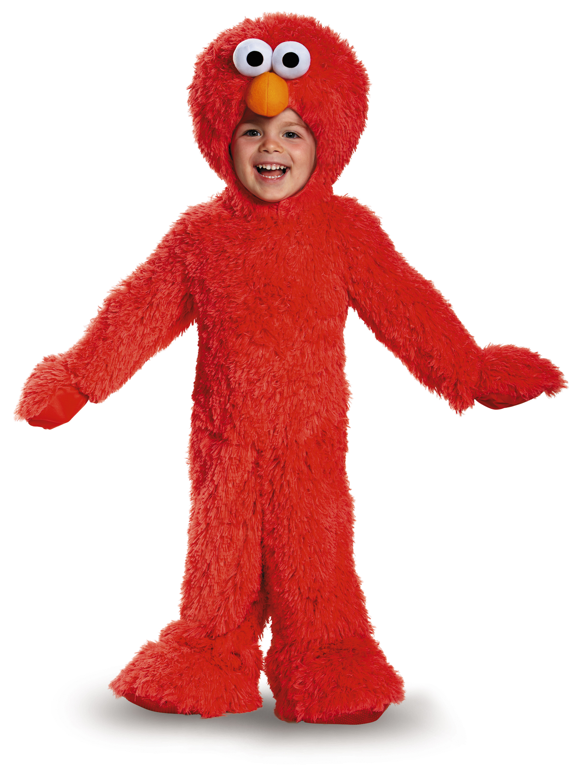 Toddler Elmo Extra Deluxe Plush Costume by Disguise 76876 by Disguise