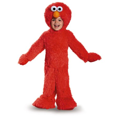 Toddler Elmo Extra Deluxe Plush Costume by Disguise - Elmo Toddler Costumes