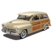 1949 Mercury Wagon 1/25 Paint And Glue Model Kit