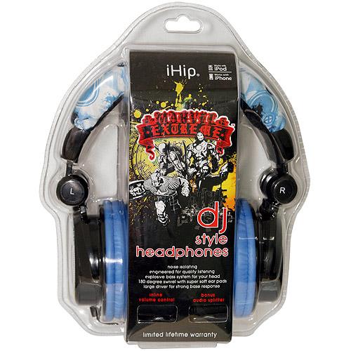 iHip MVF10264WO Marvel Wolverine Extreme DJ Headphone_ Yellow_Blue