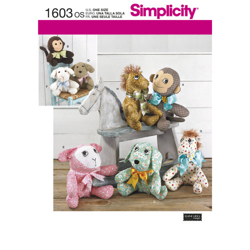 Simplicity Crafts Stuffed Animals