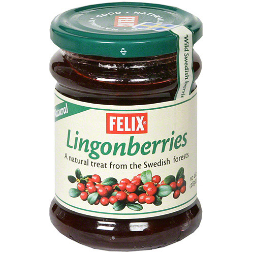 Felix Wild Natural Lingonberries, 10 oz (Pack of 8)