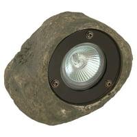 Moonrays Low Voltage Rock Spotlight Path Light, 20-Watt